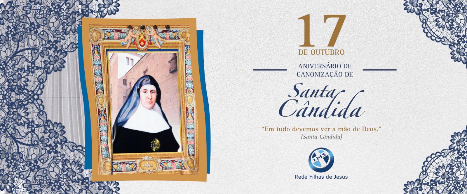 Canonização Santa Cândida