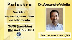 Palestra Dr. Alexandre Valotta